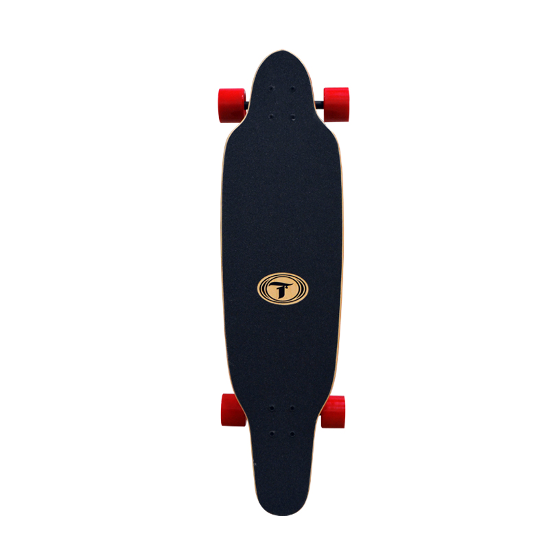 "Longboard (Mini) Pintail com Kicktail Traxart 36"" - DM-473"