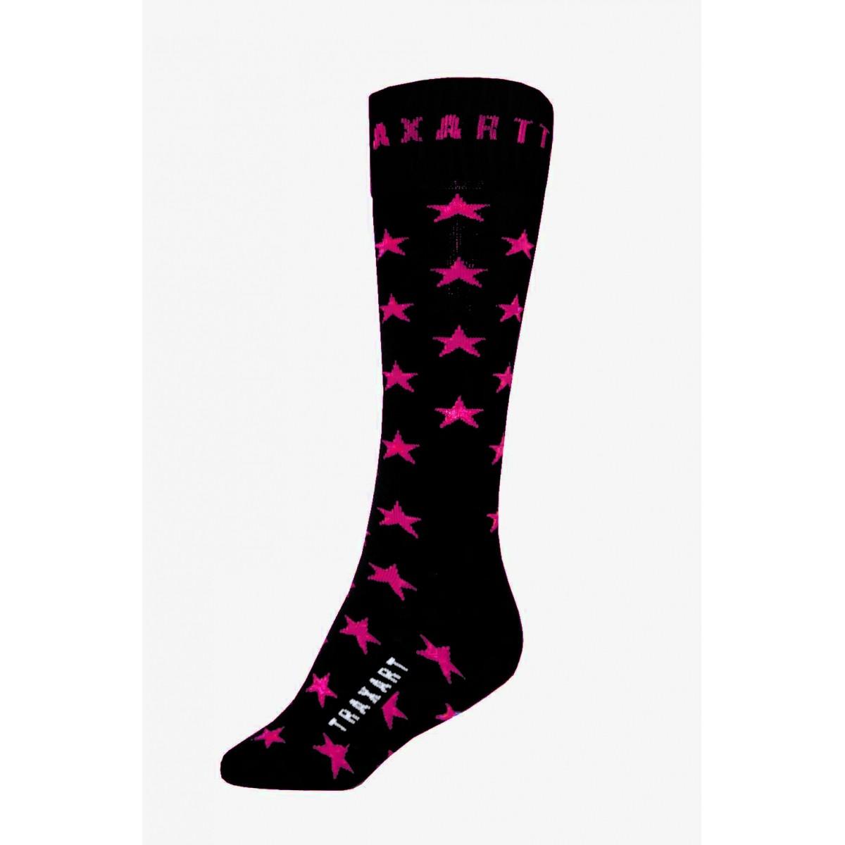 Meias 3/4 Inline com Estrelas Traxart  - DS-024