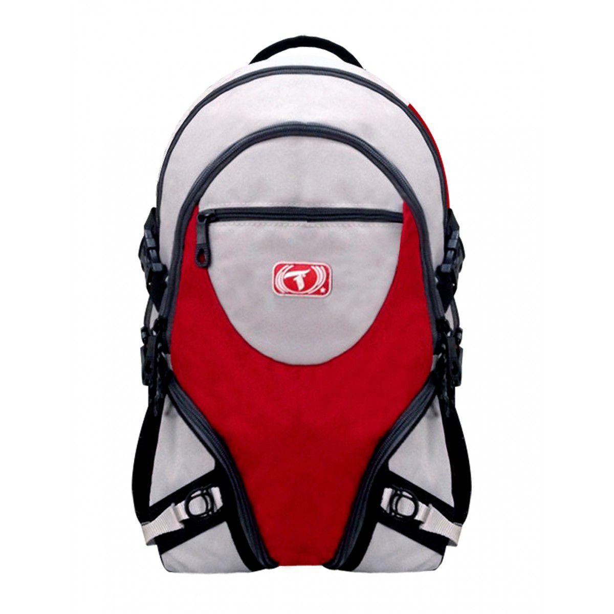 Mochila Traxart X-Pack - Cinza/Vermelho