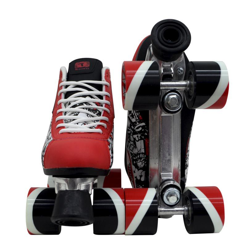 Patins Traxart Quad X-Trike Red - Rodas 62x40mm/82A ABEC-7