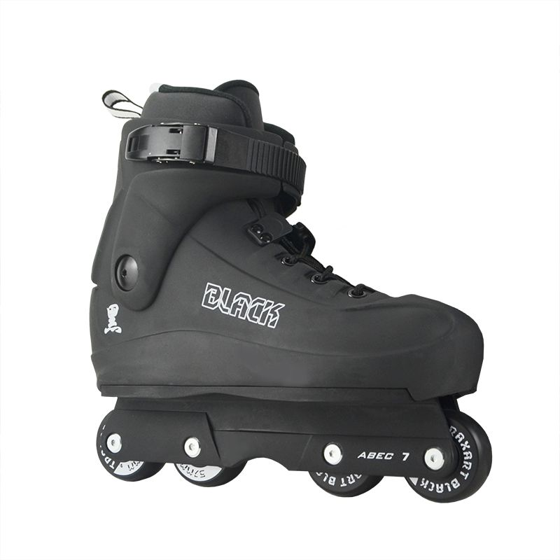 Patins Traxart Black New (Street/Vertical) - Roda 57mm ABEC-7 Cromo