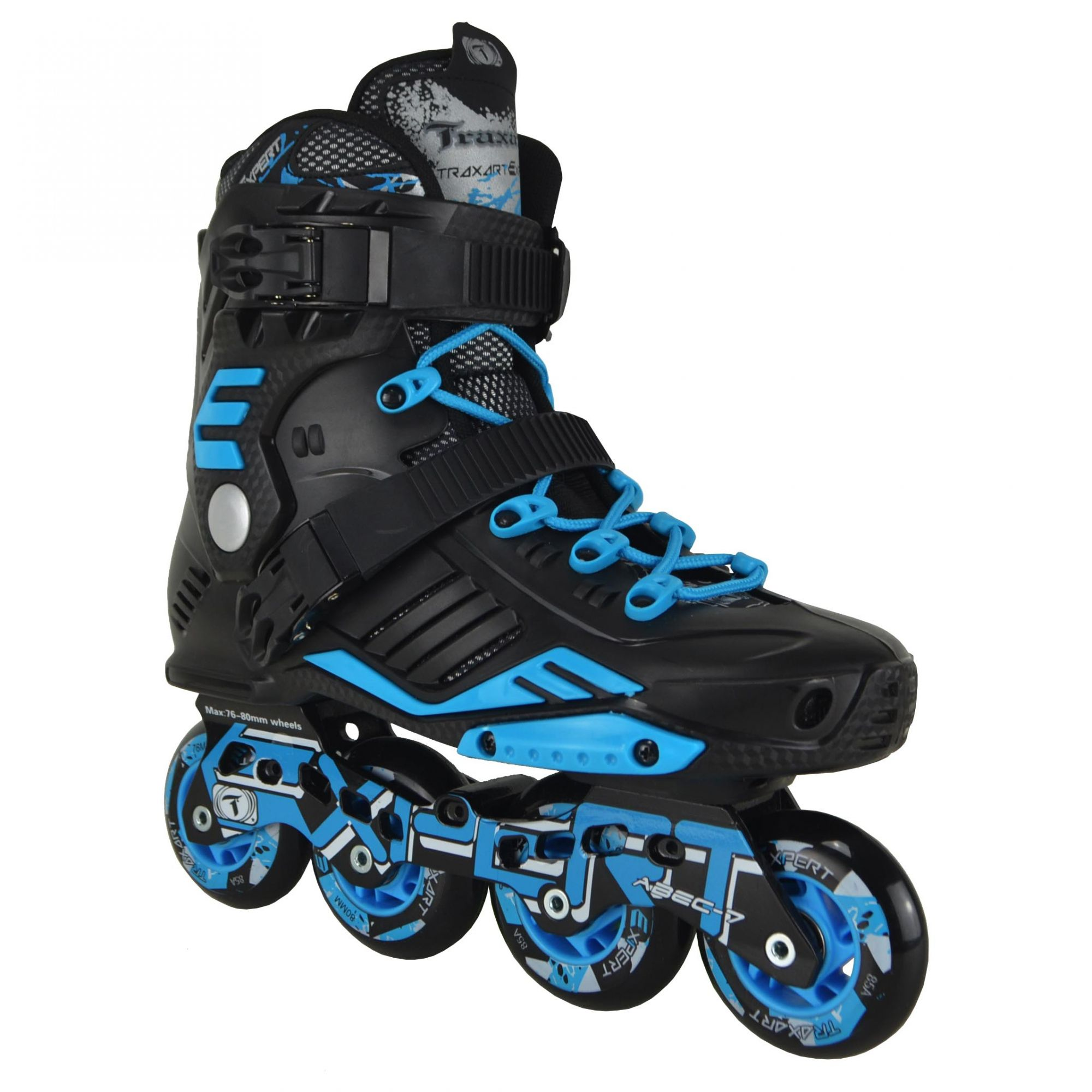 Patins Traxart Freestyle Expert - Rodas 72x76mm/76x80mm ABEC-7 Cromo