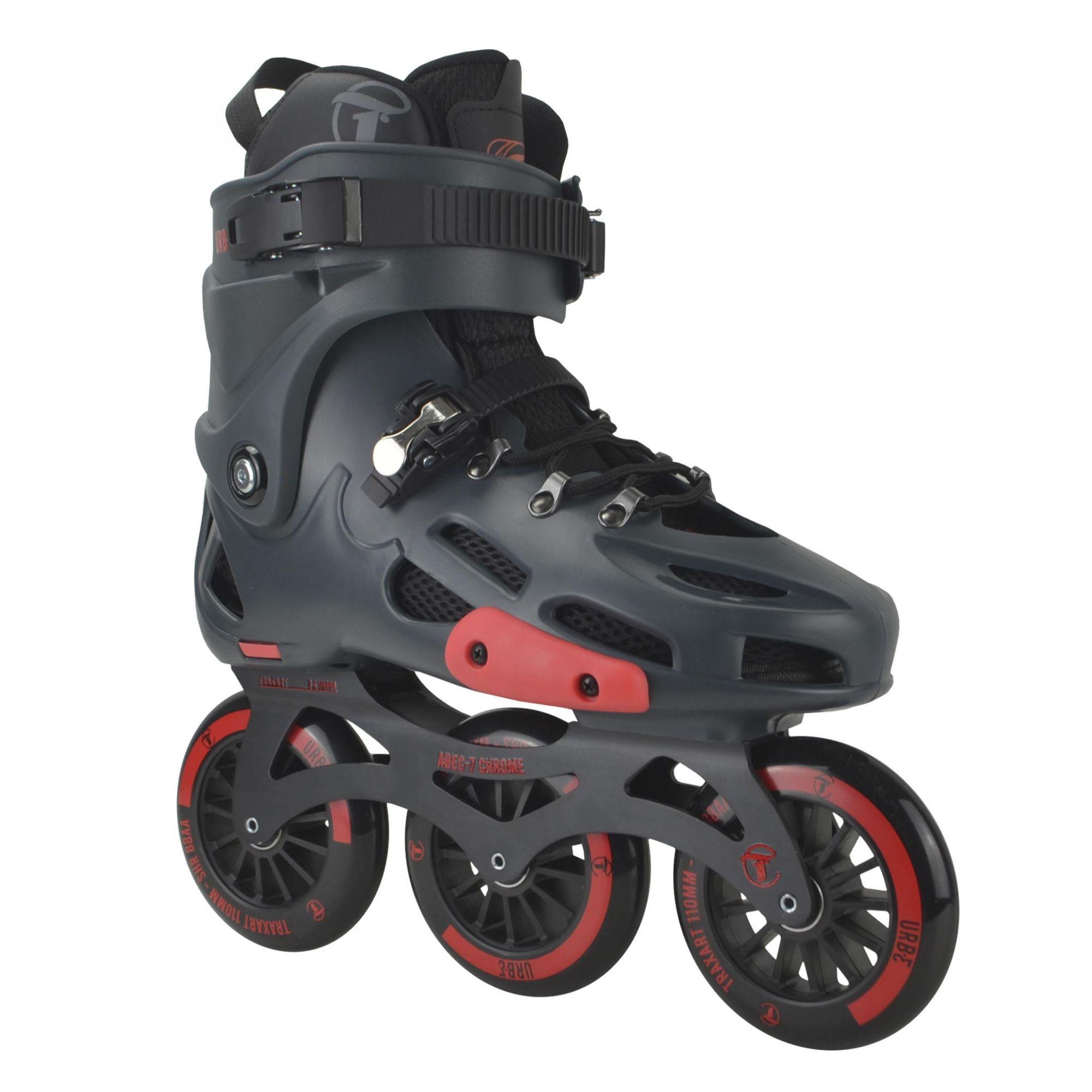 Patins Traxart Freestyle Urban URB-E - Rodas 110mm ABEC-7 Cromo