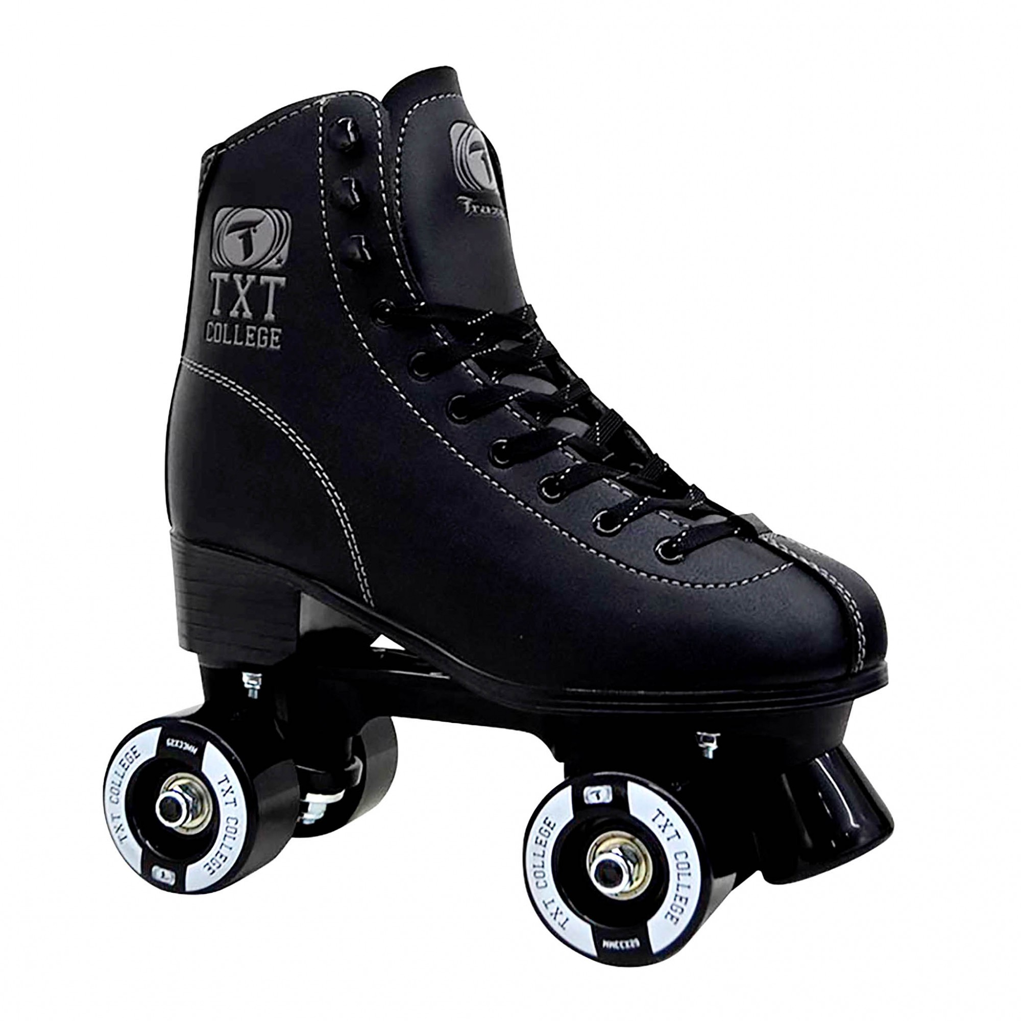 Patins Traxart Quad TXT College Black - ABEC-7