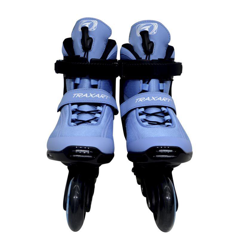 Patins Traxart Recreação Traxion Azul - Rodas 80mm ABEC-5 - 10% À VISTA NO BOLETO OU 1X NO CARTÃO