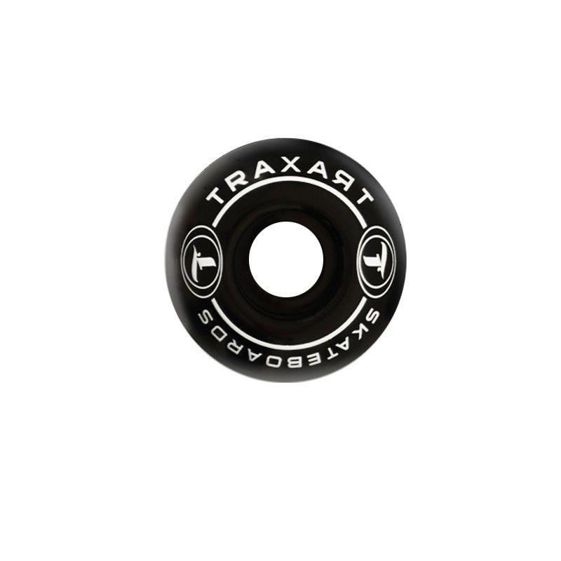 Rodas Traxart Skate 50mm - Preto