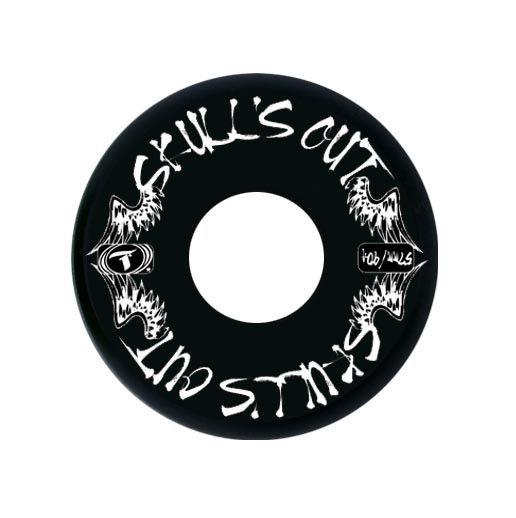 Jogo de Rodas Traxart Street - Skull's Out 57mm/90A - Preto