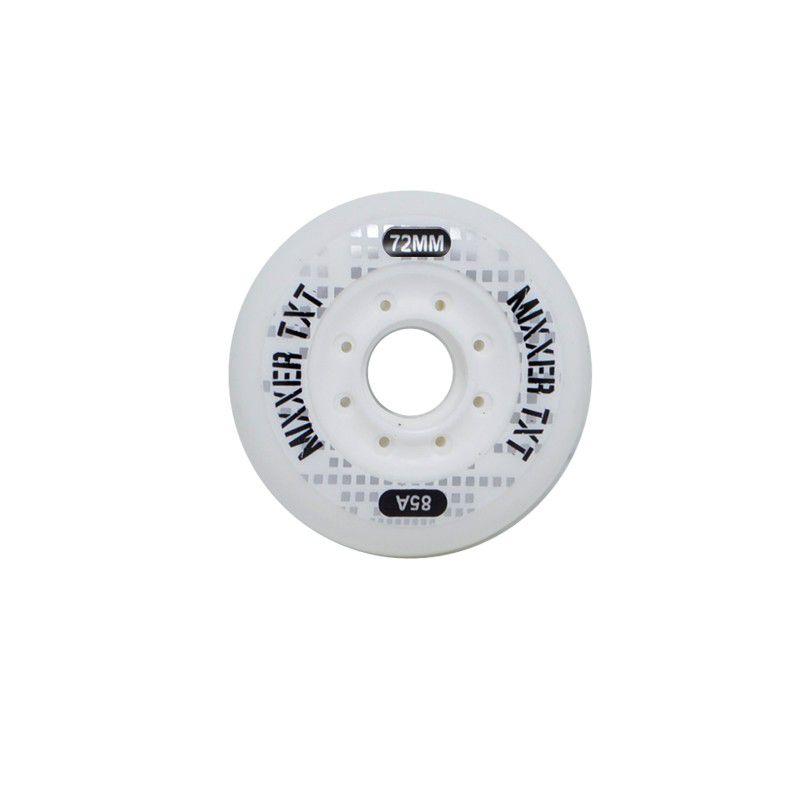 Jogo de Rodas Traxart Freestyle Mixxer TXT 72mm/85A - Branco
