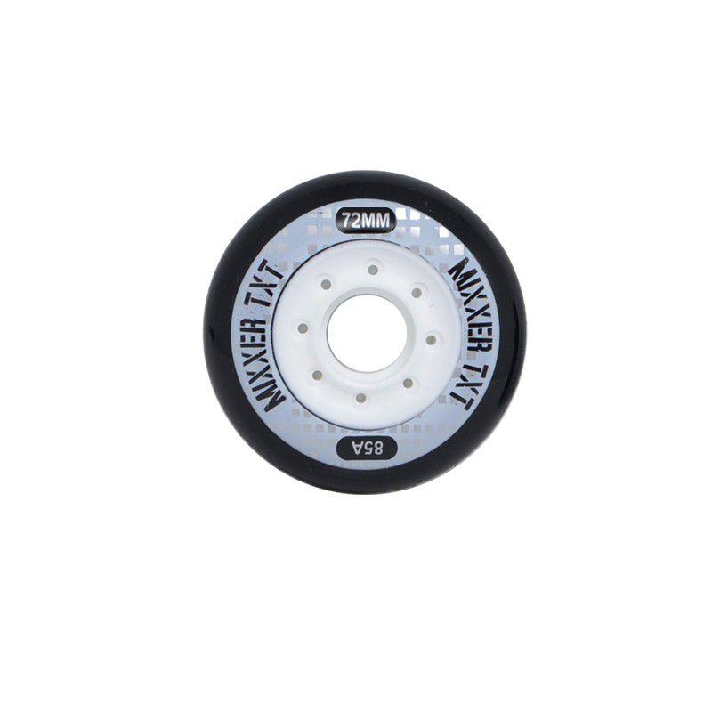 Jogo de Rodas Traxart Freestyle Mixxer TXT 72mm/85A - Preto