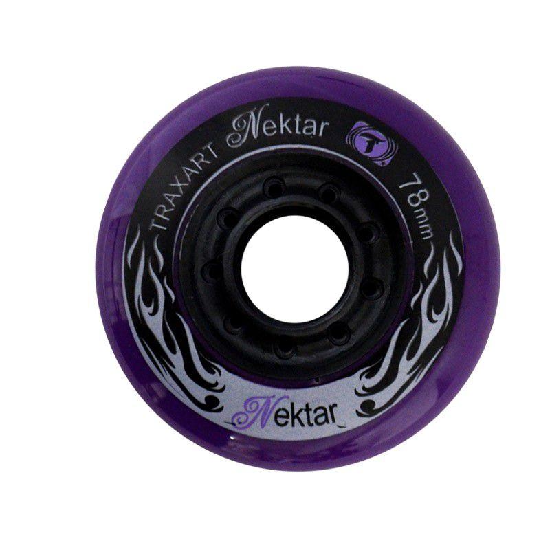 Jogo de Rodas Traxart Freestyle Nektar 78mm - Roxo