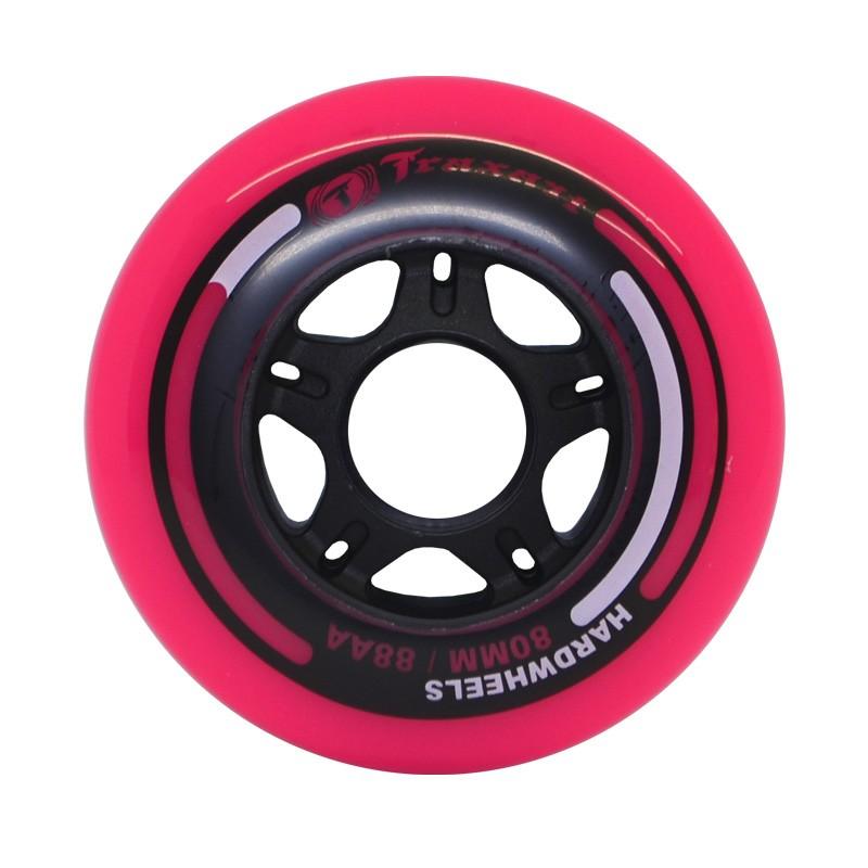 Rodas Fitness Traxart Hardwheels 80mm/88A - Pink