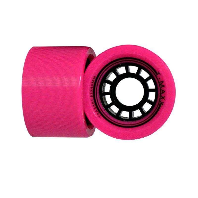 Jogo de Rodas Traxart Quad T-Maxx 62x40mm - Pink