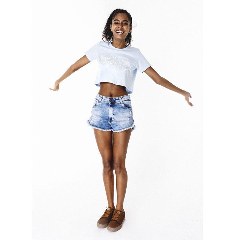 Shorts Traxart Jeans Feminino - DV-132