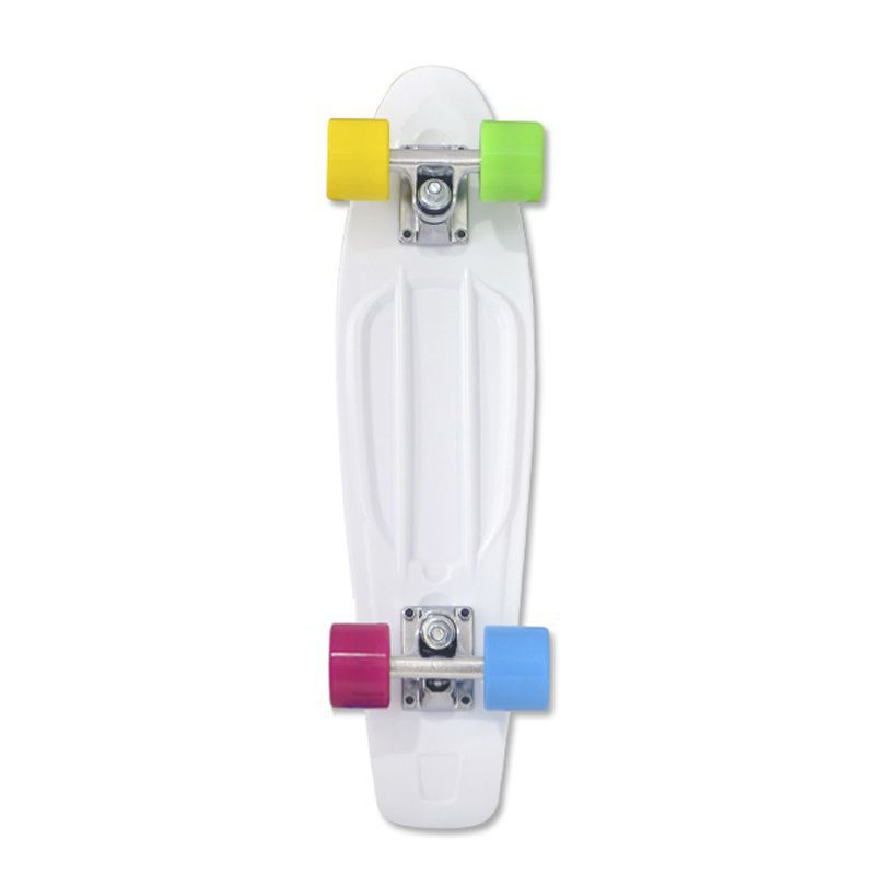 Skate  Cruiser Traxart - 15 X 57 CM - BRANCO
