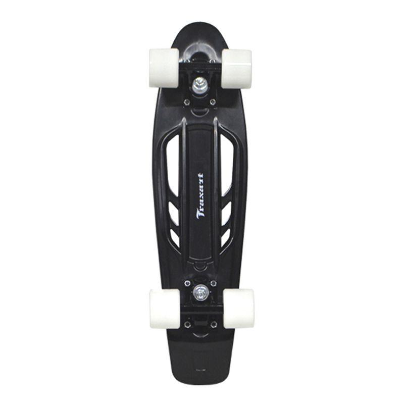 Skate  Cruiser Traxart  - 15 X 57 CM - PRETO