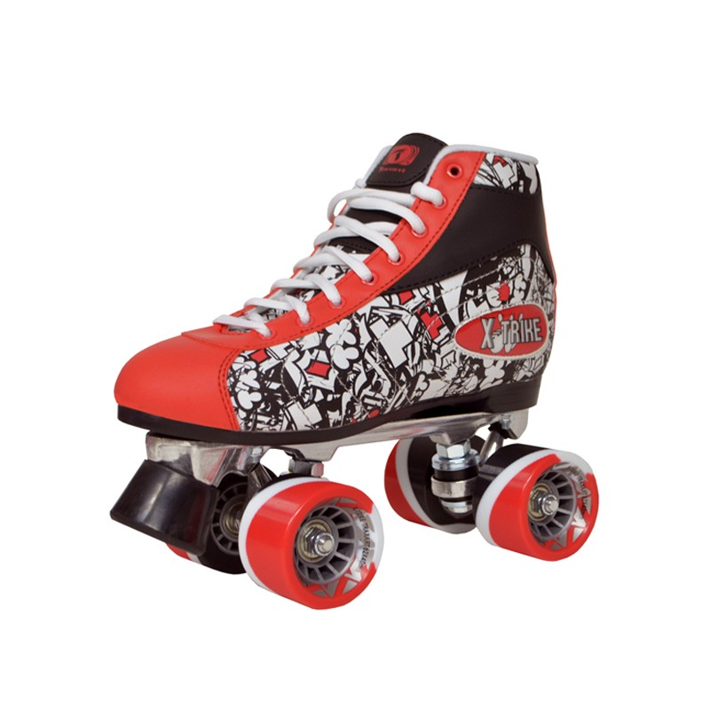 Patins Quad Traxart X-Trike - Red