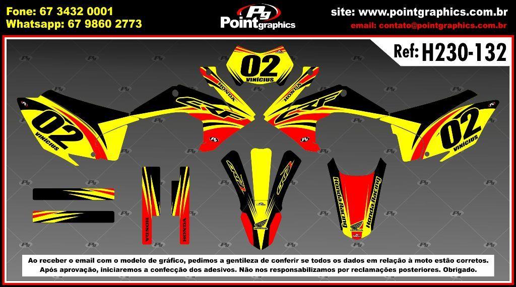Kit Grafico CRF230 ano 2015-2017 - Point Graphics ...