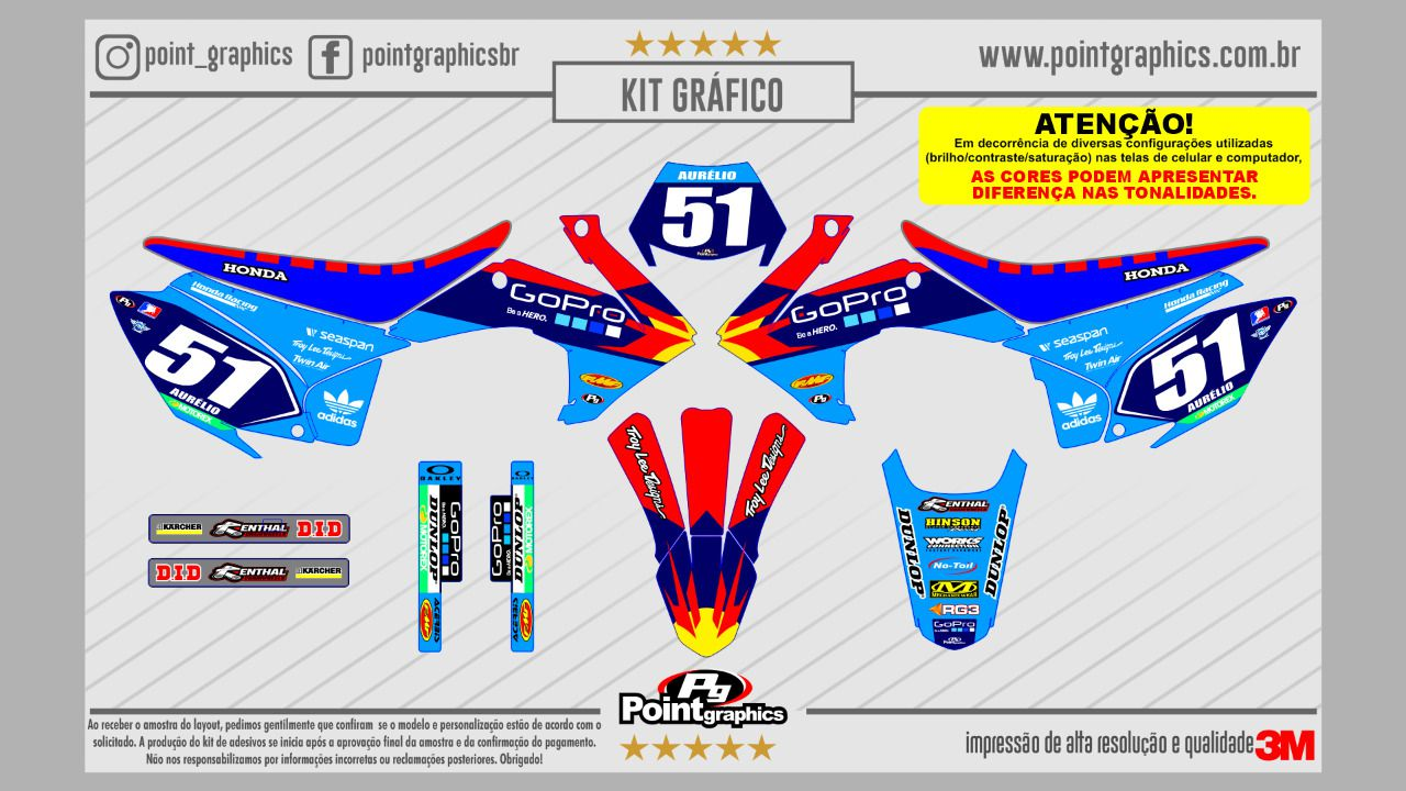 Kit Grafico Crf230 Capa De Banco Gripper Ano 2015 2018