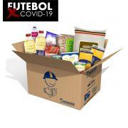 Cesta Básica + Kit Higiene - Futebol contra COVID-19