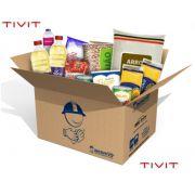 Pascoa Solidaria | TIVIT 2020 - Cesta Básica  Econômica + Higiene