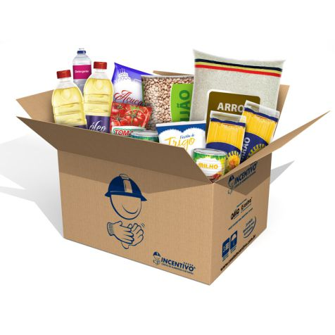Cesta Básica Combo Super Econômico c/ Kit Higiene
