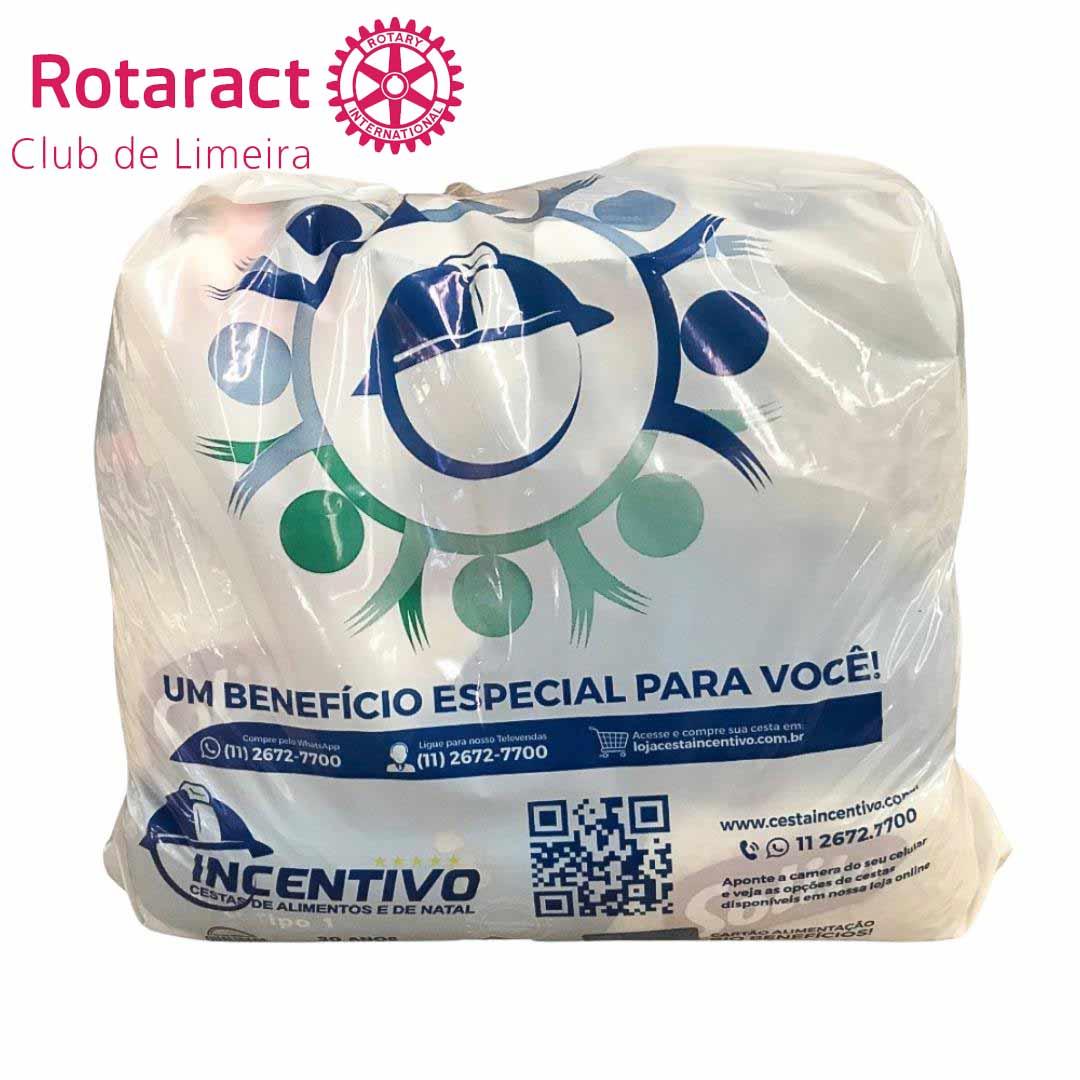 Cesta Básica Doação Rotaract Club de Limeira  - 13 ITENS