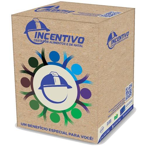Cesta Básica  Econômica + Higiene 1286 - EXCLUSIVO - Instituto Bussola Jovem