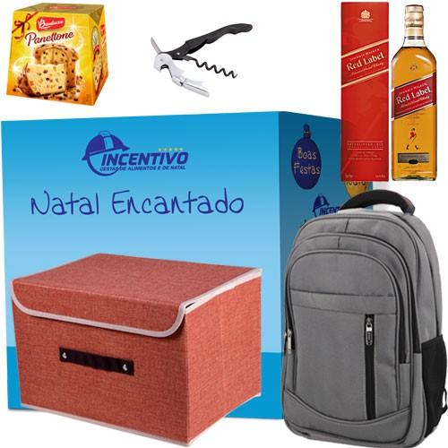 Cesta de Natal Reserva Red Label - 34 Itens