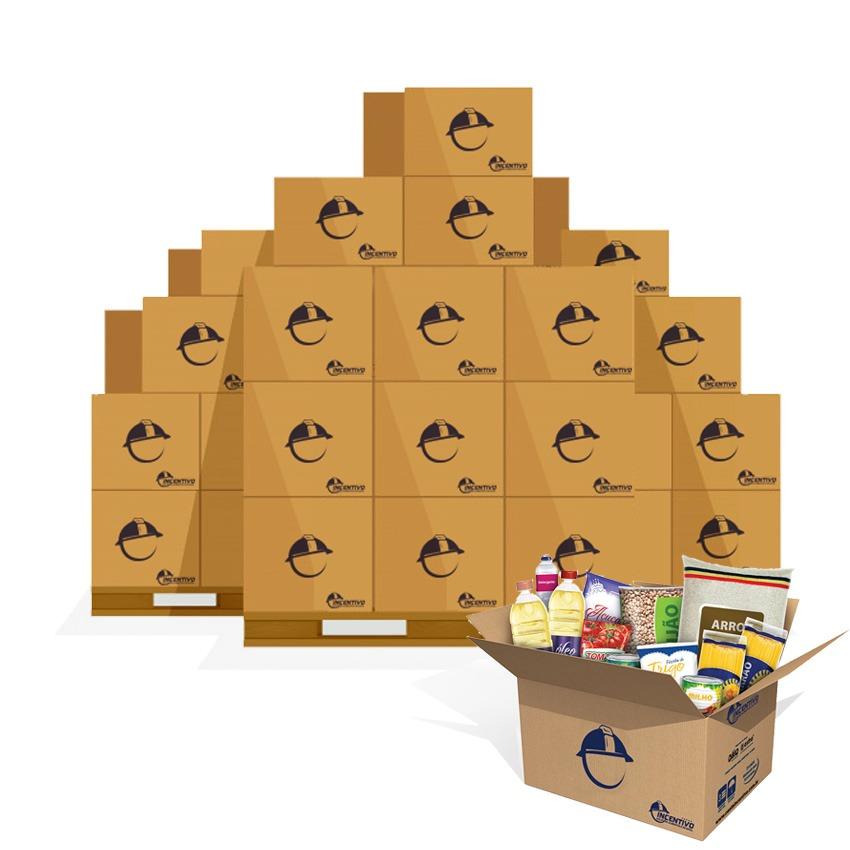 Kit 10 cestas básicas econômica jr