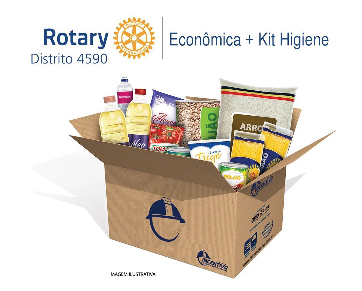 Rotary 4590 - Cesta Básica  Econômica + Higiene 1292