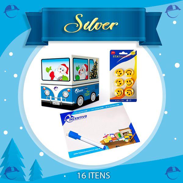 Cesta de Natal Silver  - Cesta Incentivo - Cesta Básica e Cesta de Natal