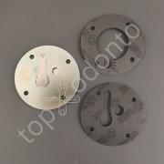 Kit disco válvula cilindro do compressor s-136