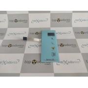 Teclado Etiqueta / Membrana do Controle RX Eletronic com 02 Digitos - Sob Encomenda