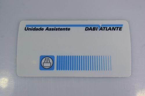 Etiqueta Painel Unidade sem Foto - Sob Encomenda  - DABI ATLANTE - TOP ODONTO