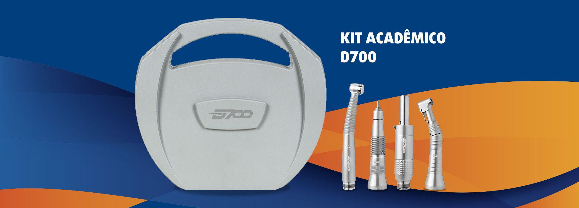 3.KIT ACADÊMICO D700  - DABI ATLANTE - TOP ODONTO