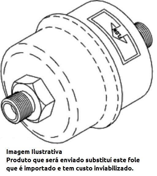 Kit Válvula Fole para  Autoclave Midmark M7 / M9 (sob encomenda)  - DABI ATLANTE - TOP ODONTO