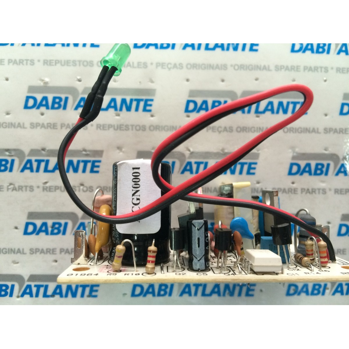 Placa fonte Ultraled com saída 7,5 VDC  - DABI ATLANTE - TOP ODONTO