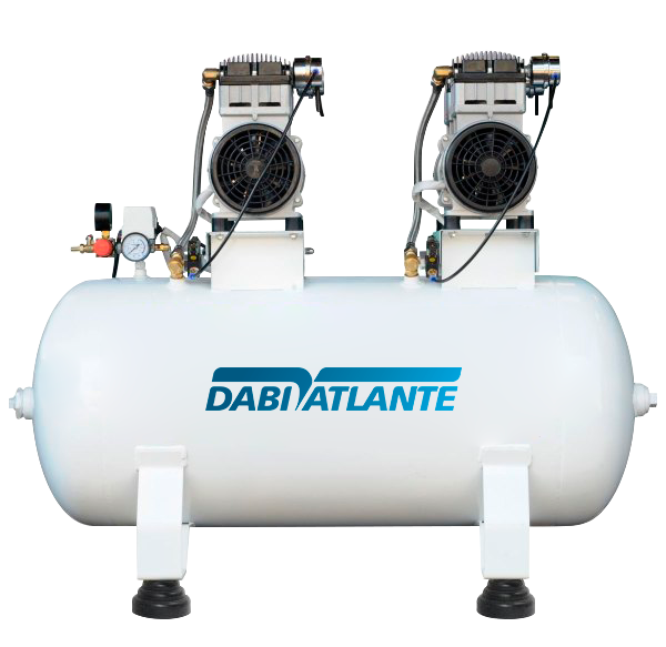 COMPRESSOR 150 L  - DABI ATLANTE - TOP ODONTO