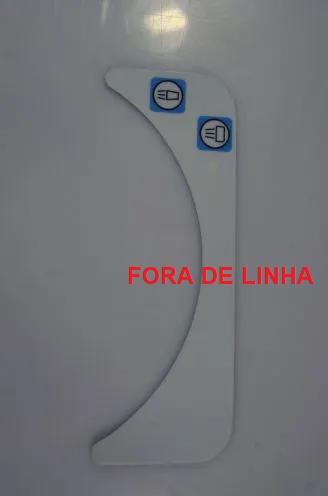 Etiqueta painel unidade com Temporizador - FORA DE LINHA  - DABI ATLANTE - TOP ODONTO