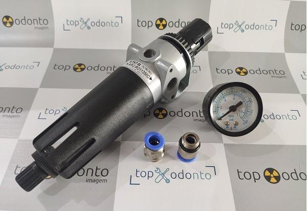 Filtro de Ar Automático para Compressor   - DABI ATLANTE - TOP ODONTO