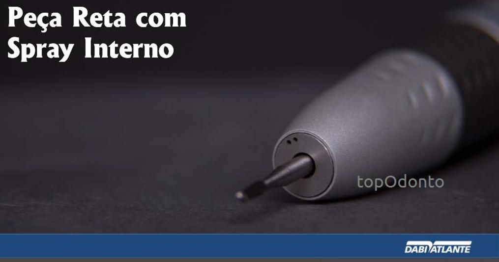 NOVA LINHA BAIXA ROTAÇÃO - PEÇA RETA - 2 MODELOS - DABI ATLANTE  - DABI ATLANTE - TOP ODONTO