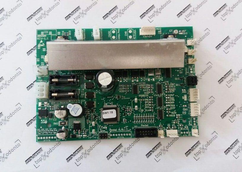 PLACA DA CADEIRACROMA / D700 / GALLA - PCI  - DABI ATLANTE - TOP ODONTO