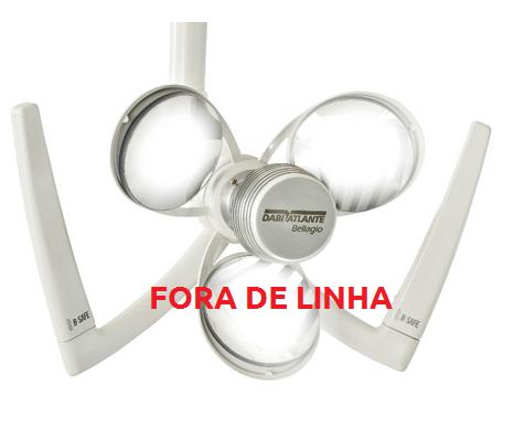 Refletor Bellagio  -  FORA DE LINHA - Somente pecas para reposicao  - DABI ATLANTE - TOP ODONTO