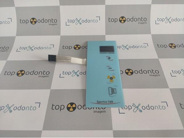 Teclado Etiqueta / Membrana do Controle RX Eletronic com 02 Digitos - Sob Encomenda  - DABI ATLANTE - TOP ODONTO