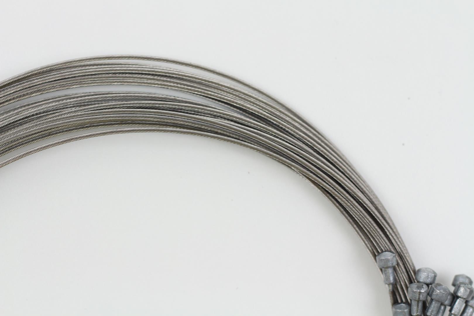 10x Cabos De Aço CLY para Freios Speed Ferradura ou MTB V-Break 2000mm em Inox