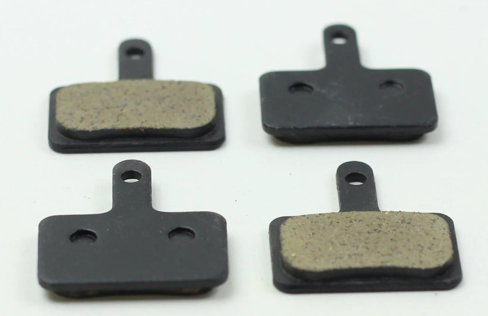 10x Pastilhas De Freio Disco Orgânica GTS para Shimano M575 M495 M486 M485 M445 M315 MT200