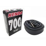 2x Câmaras De Ar Bicicleta Speed Kenda Aro 700 x 18/23c Válvula Presta 48mm