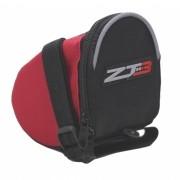 Bolsa de Banco Selim para Bicicleta ZT3 Para Ferramentas e Acessórios Cor Preta com Vermelho