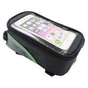 Bolsa Porta Celular Para Quadros Bicicletas Tamanho M Serve até 5.5 polegadas