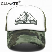 Boné Bicicleta Climate Mountain Bike Camuflado Com Regulagem